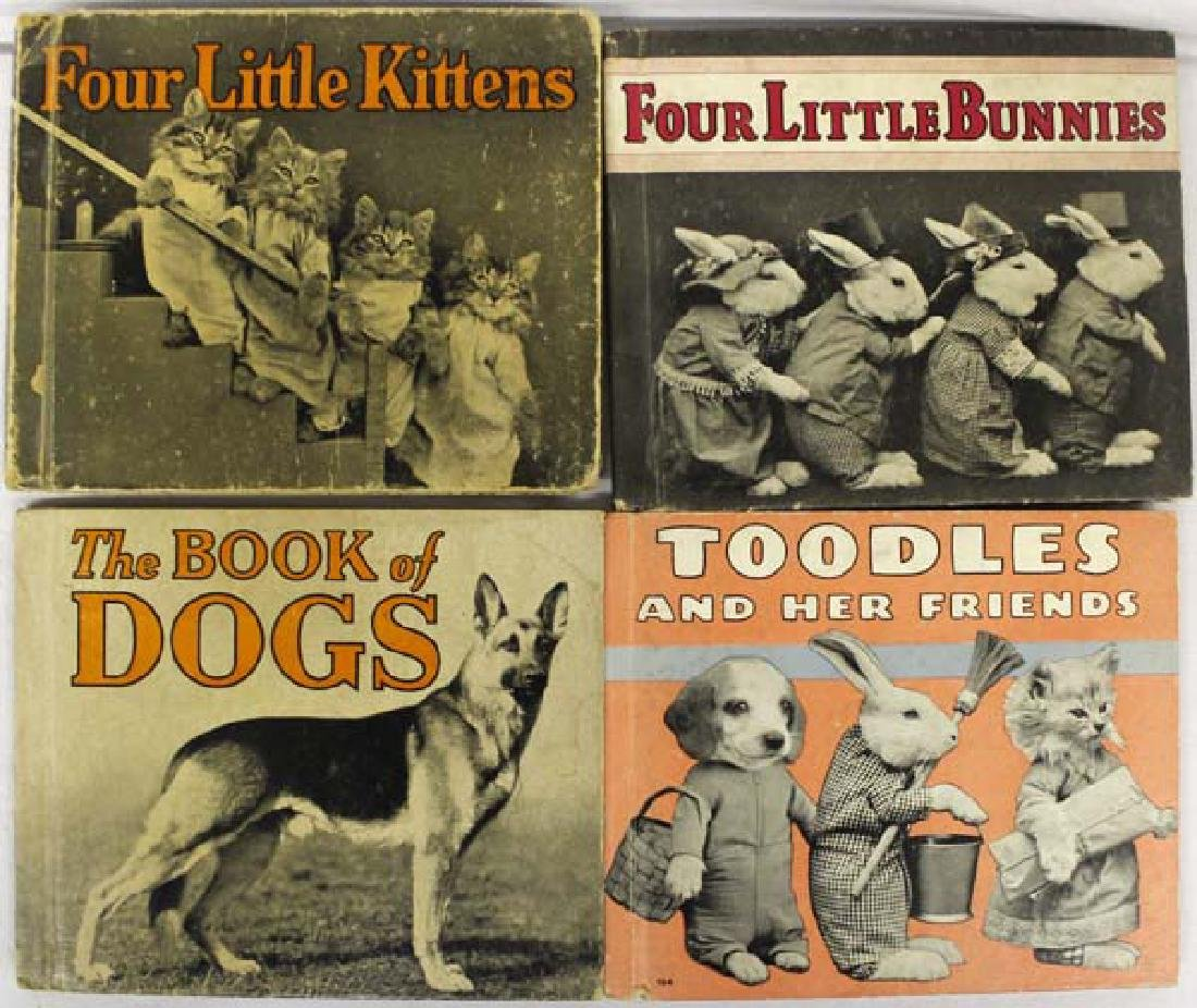 4 Vintage 1930's Children's Books
