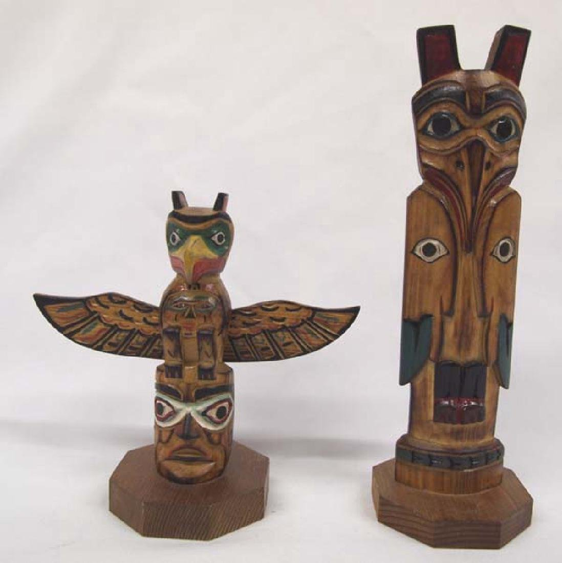 2 Northwest Coast Totems