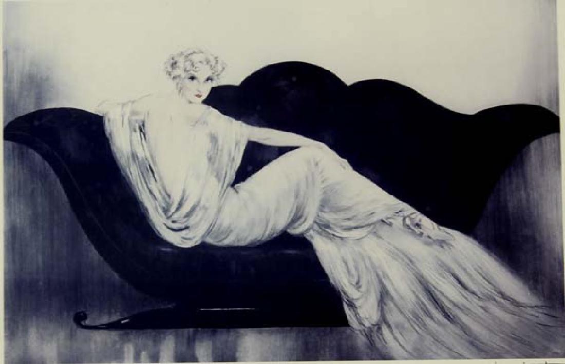 Framed Louis Icart Print - 2