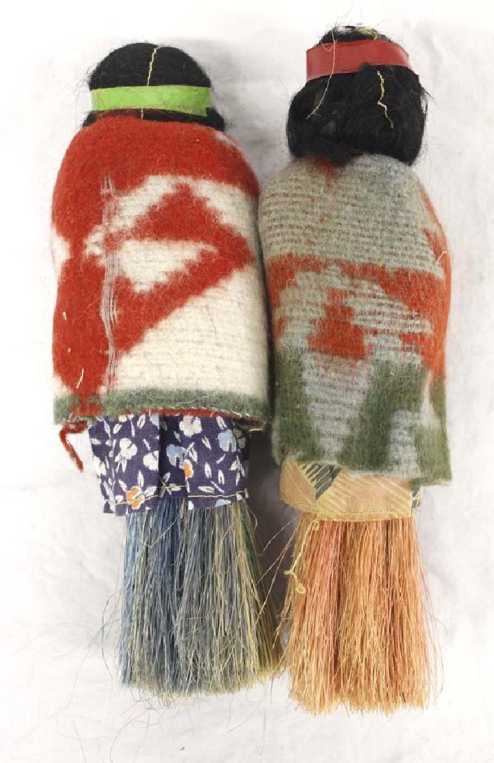 2 Rare Broom Skookum Dolls - 2