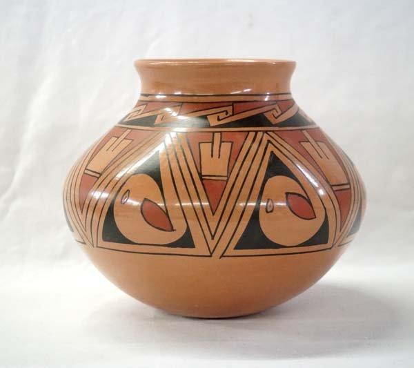 Mexican Mata Ortiz Polychrome Jar by Luis Ortiz - 2