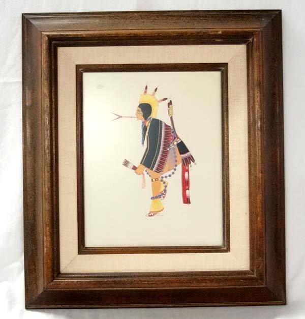 Original Native American Painting by A. Bushyhead