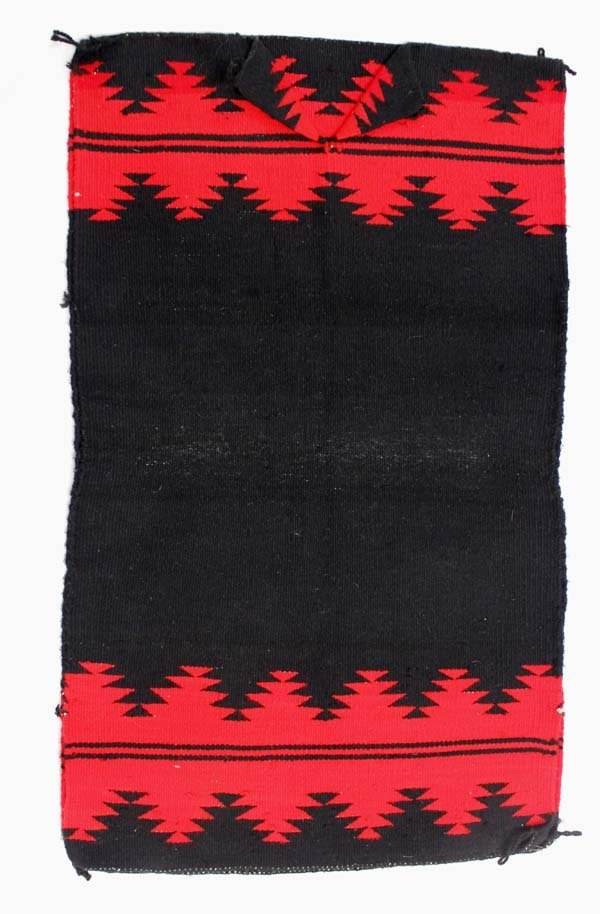 Native American Navajo Woven Wool Textile Dress