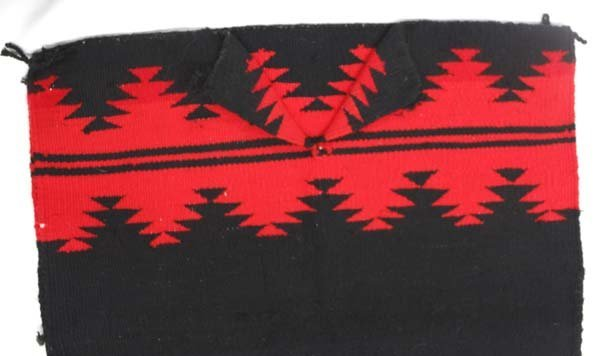 Native American Navajo Woven Wool Textile Dress - 2