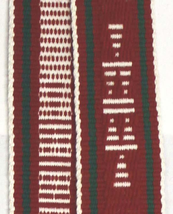 2 Native American Navajo Woven Wool Sahes - 5