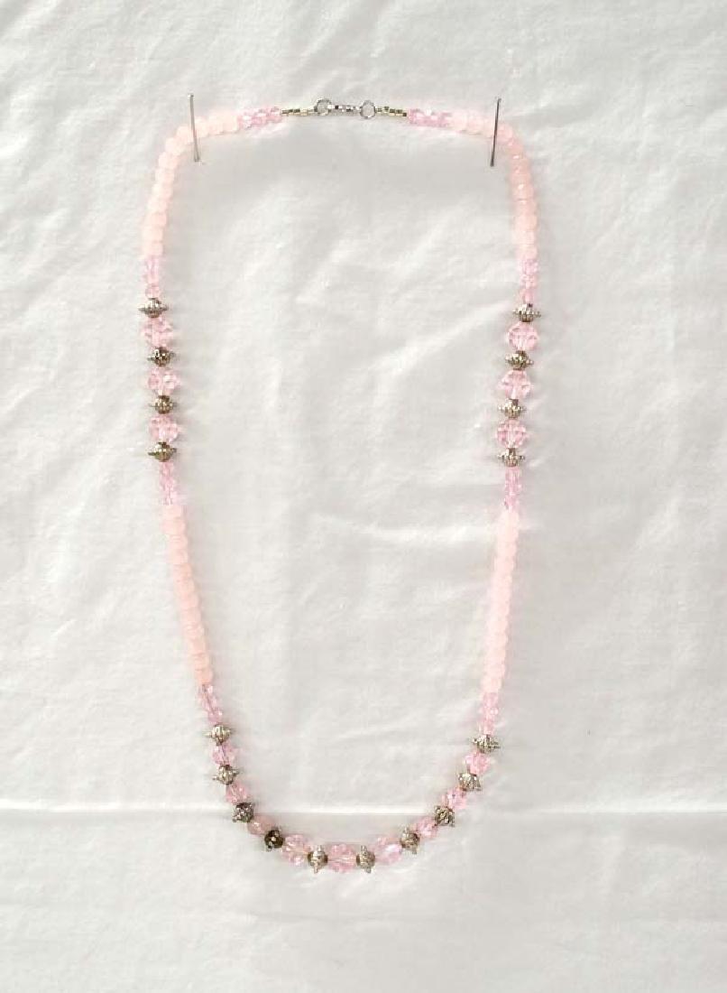 Bead Necklace 26in E-E Sh $10