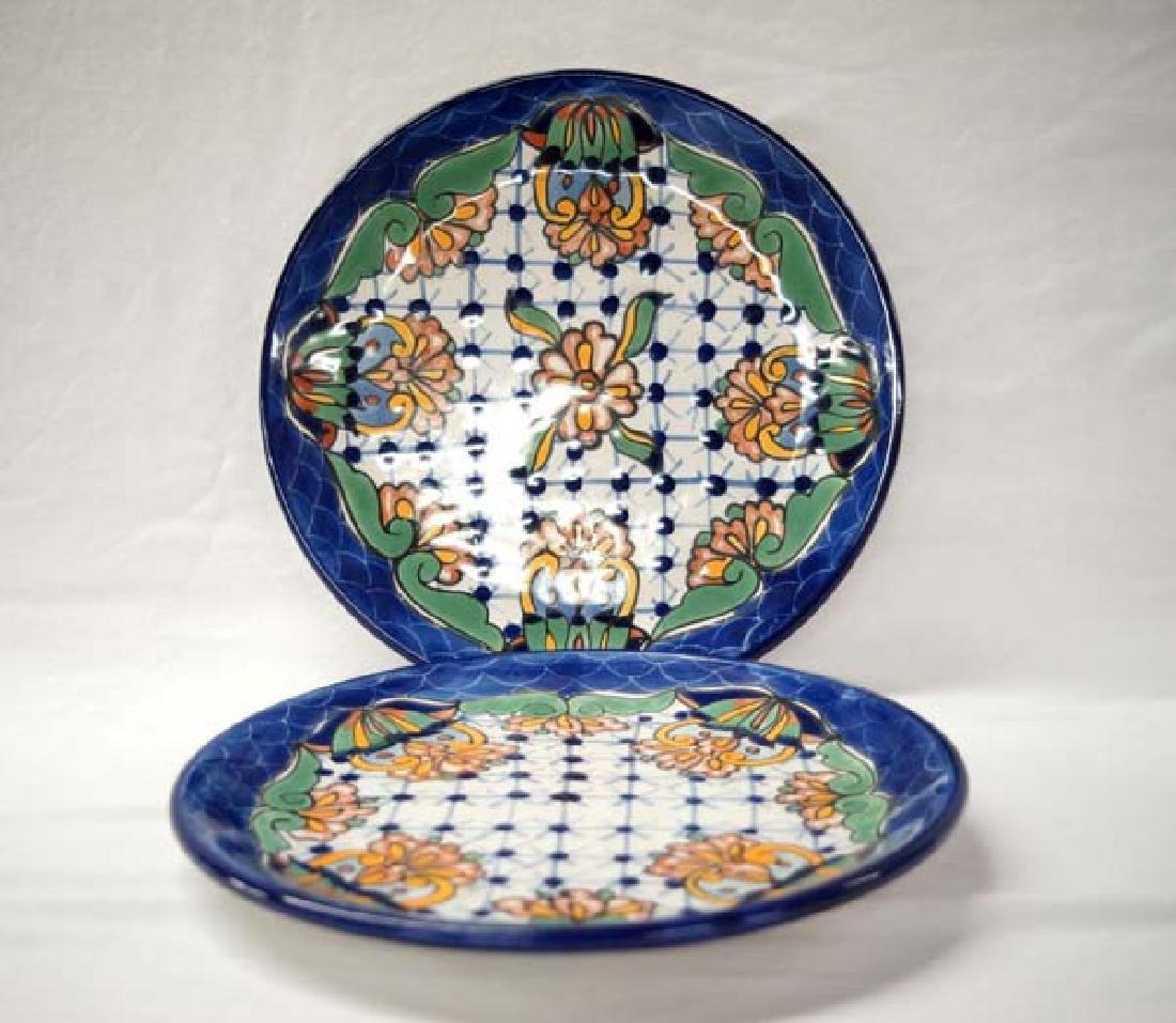 2 Mexican Talaquepaque Plates 12in SH $15