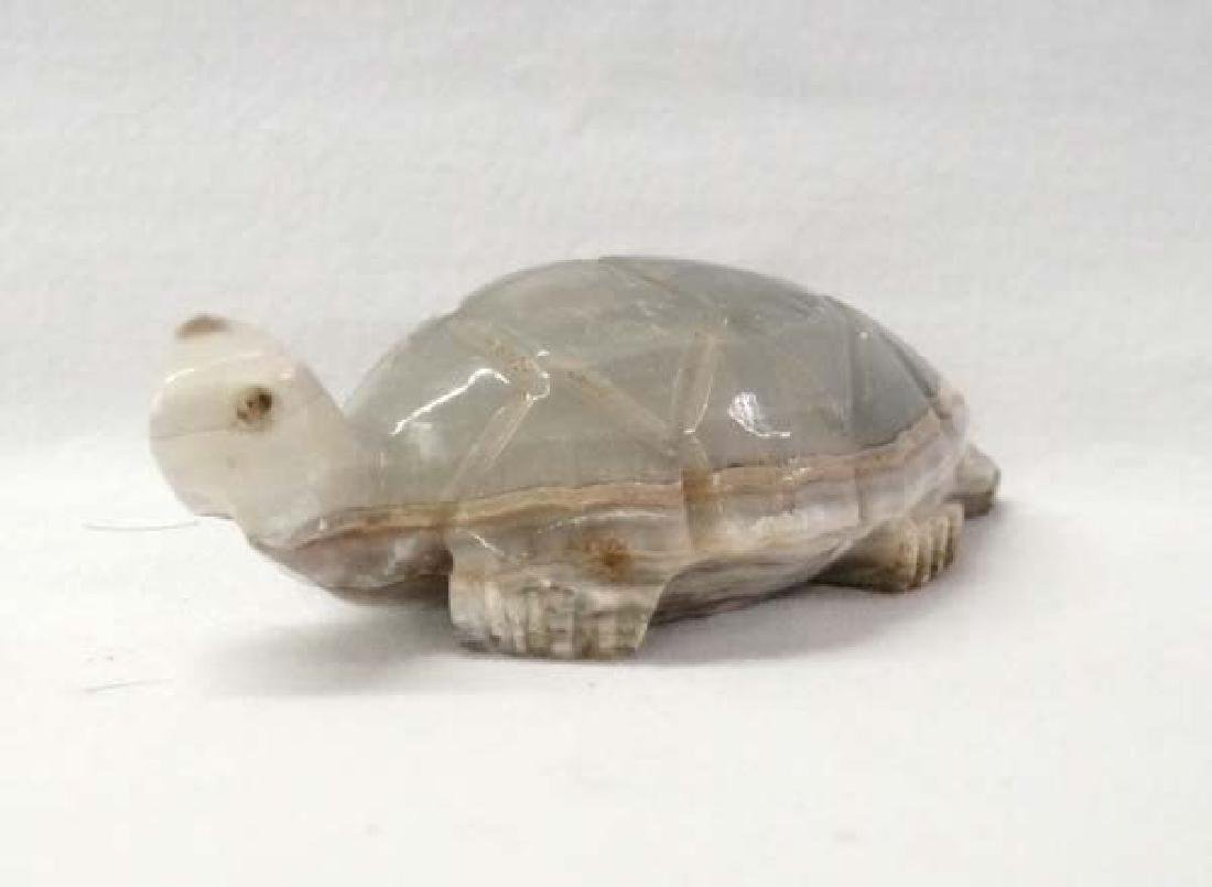 Marble Turtle 3in L SH $10