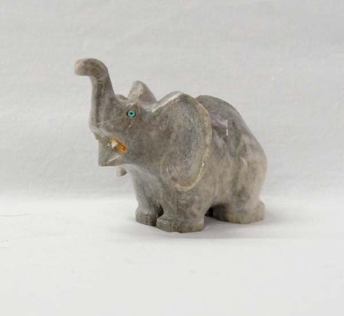 Marble Elephant 3in H SH $10