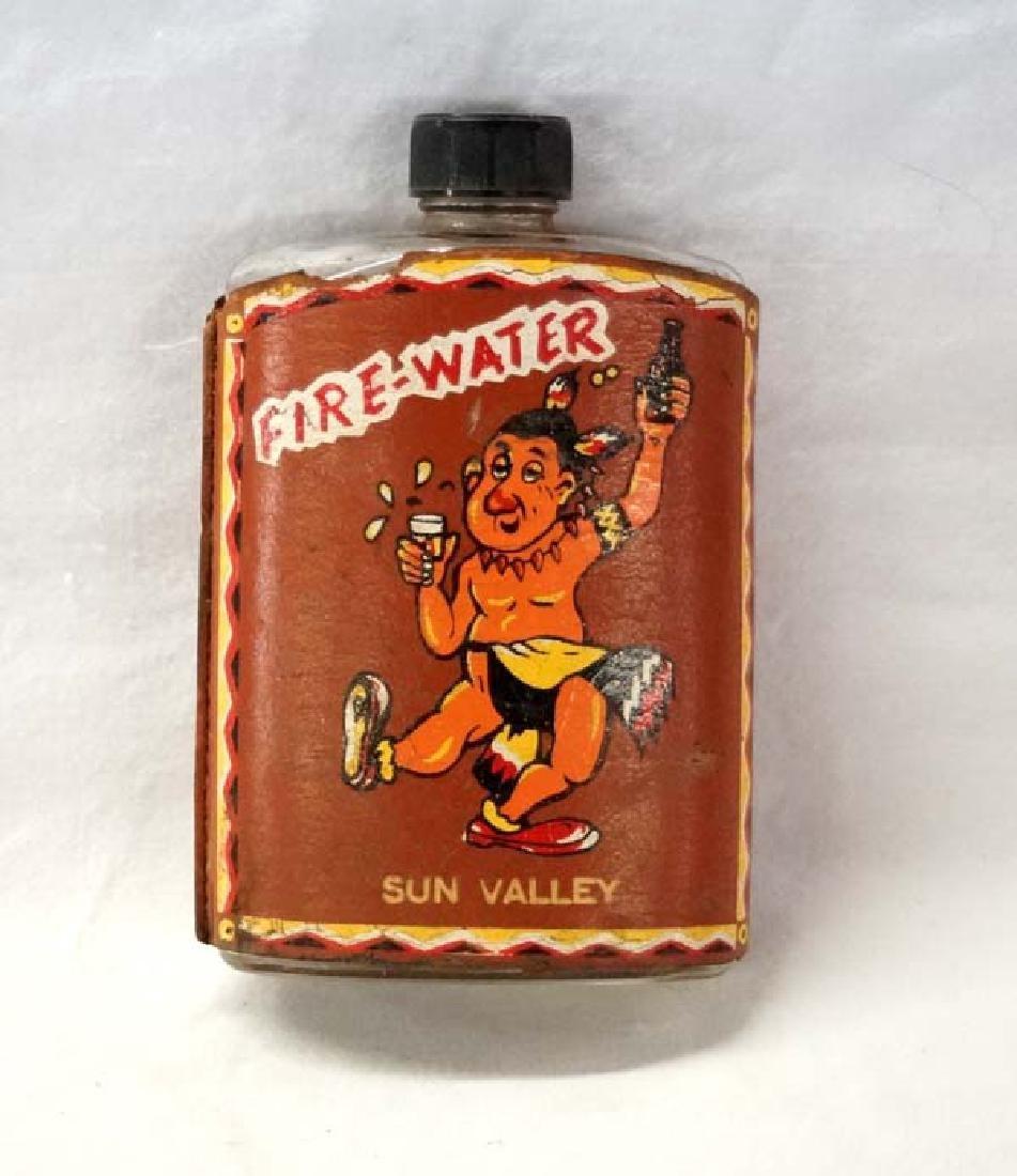 Fire Water Flask 5in H SH $10