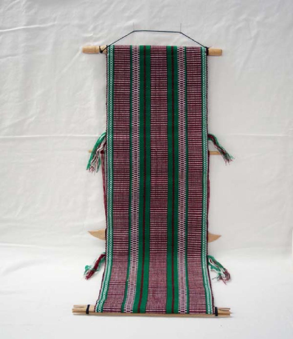 Guatemalan Textile 31in L SH $10