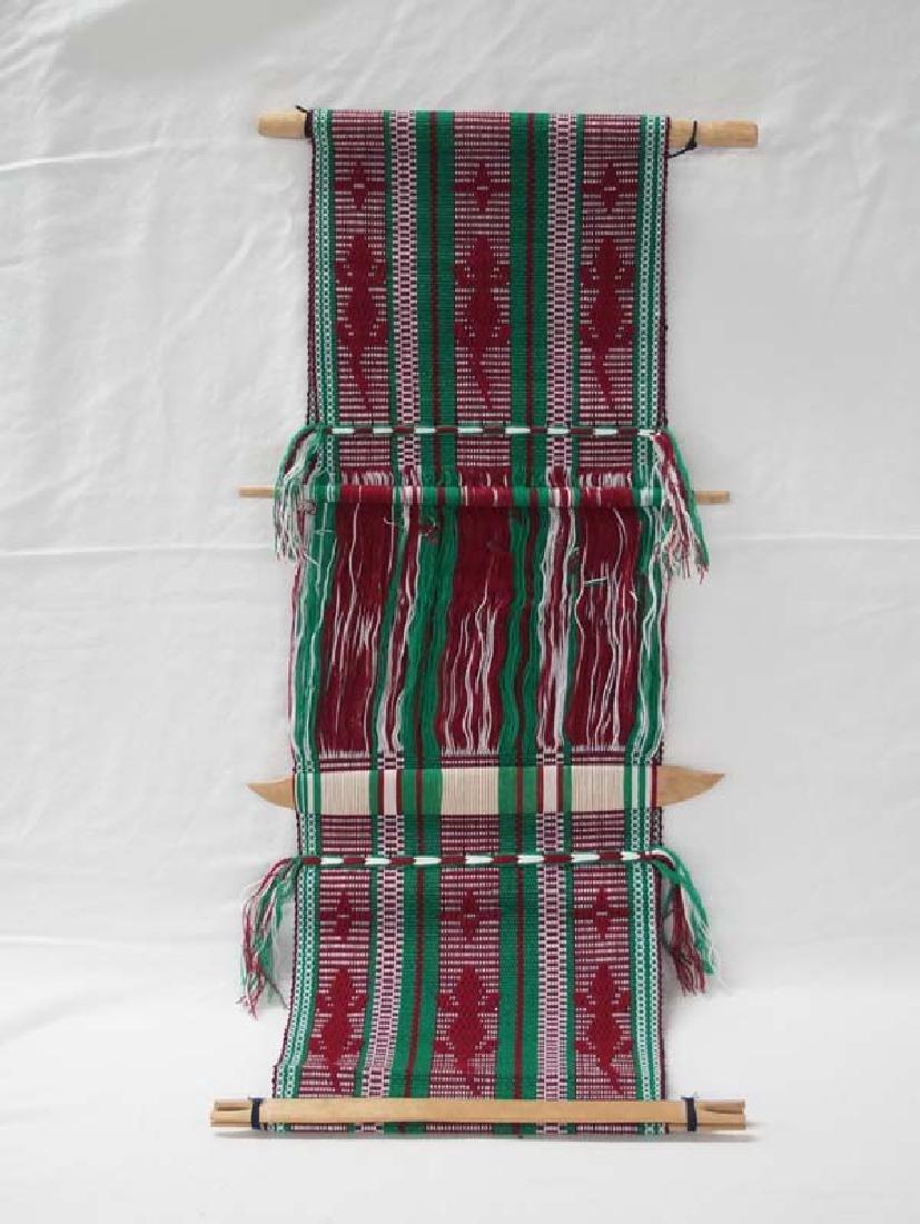 Guatemalan Textile 31in L SH $10 - 2