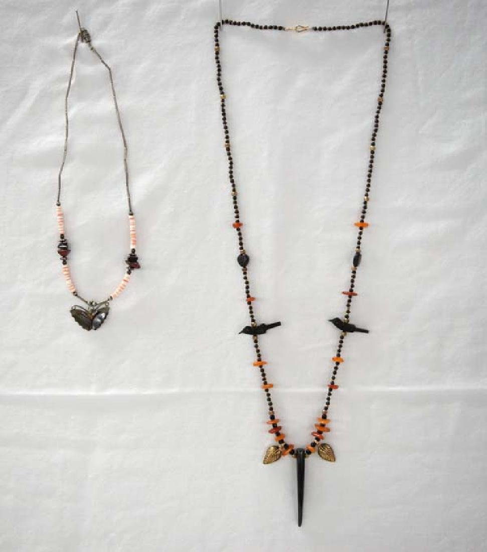 2 Native American Necklaces Sh $10