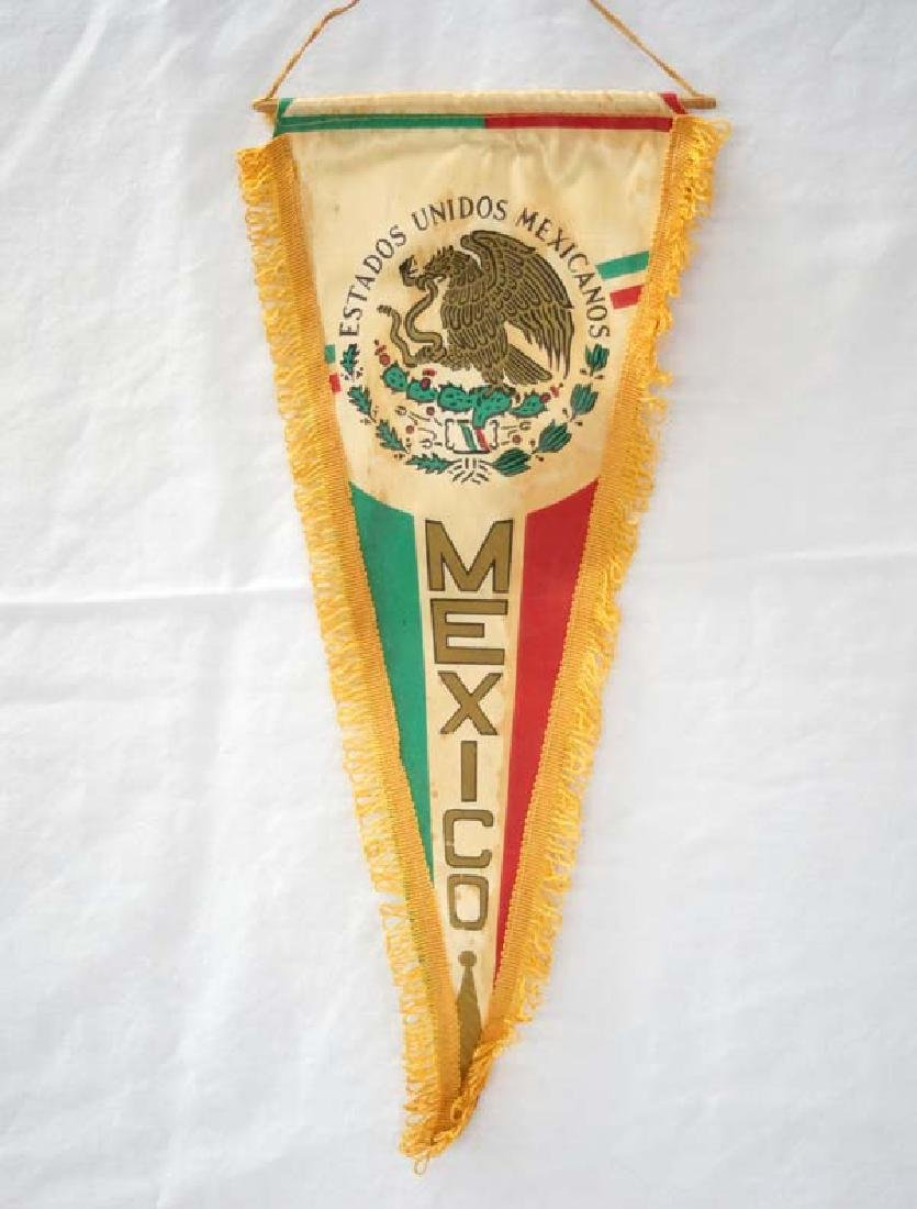 Vintage Mexican Pennant, 16 in. L, S&H $10