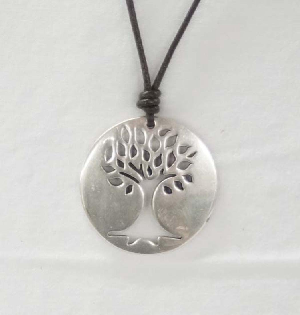 Tree of Life Necklace 1 3/4in D SH $10