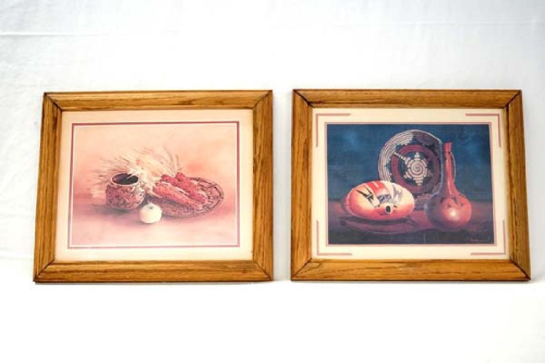2 Framed Prints 6in x 8in SH $15