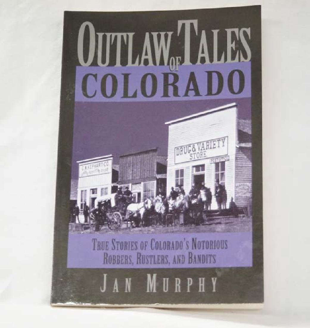 Outlaw Tales of Colorado, Book, S&H $10