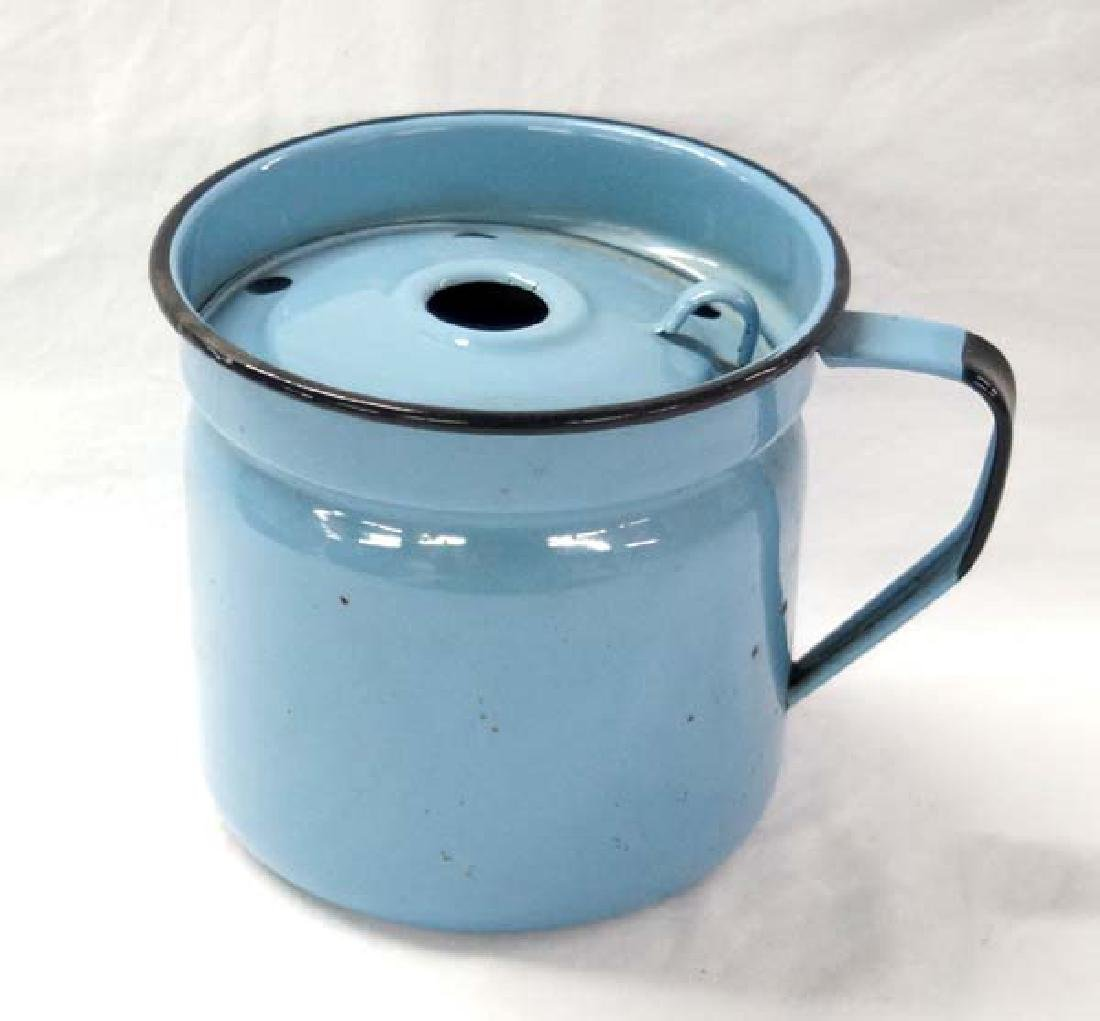 Granite Ware Steaming Pot 6in SH $15