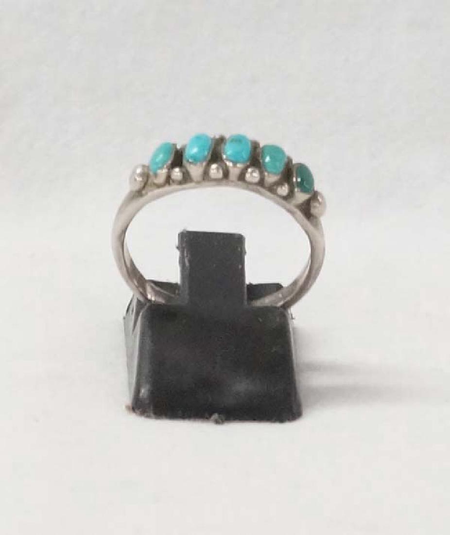 Zuni Silver Ring SZ7 SHI10