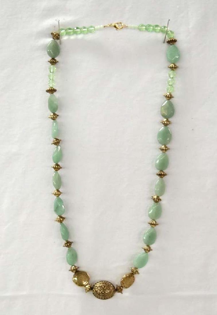 Beaded Necklace 26in SH $10