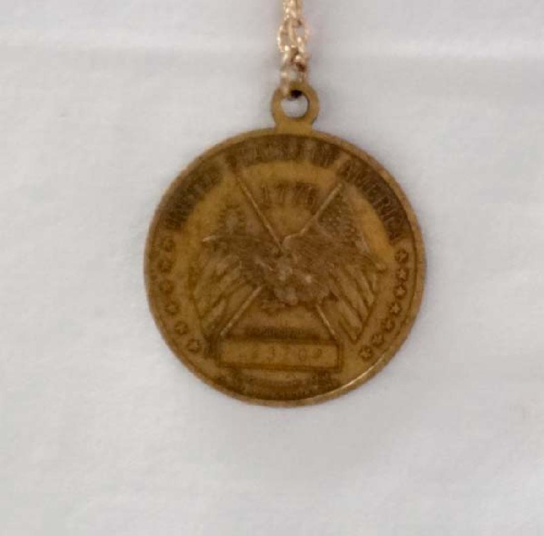 Bicentennial Coin Necklace 24in SH $10