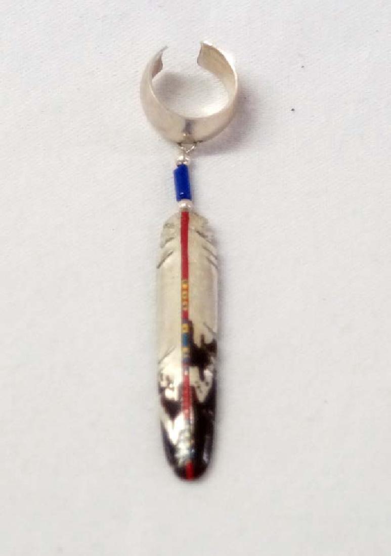 Sterling Silver Cup Earring 2in SH $10
