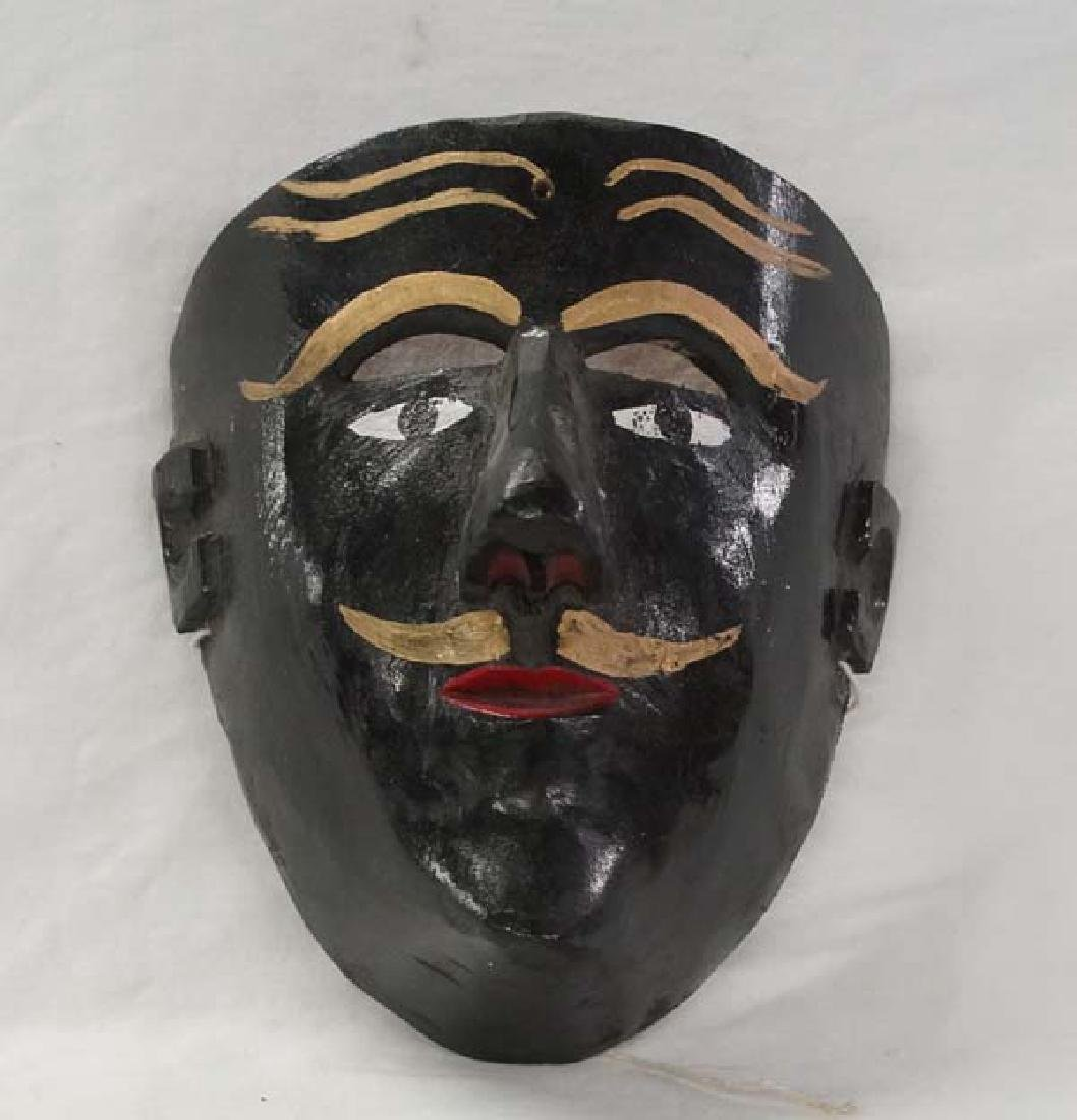 Mexican Wood Mask 7in SH15