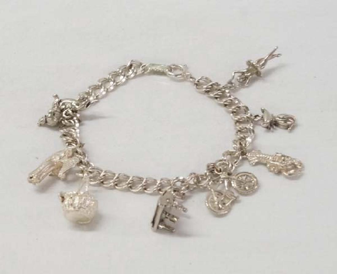 Sterling Bracelet 7in SH10