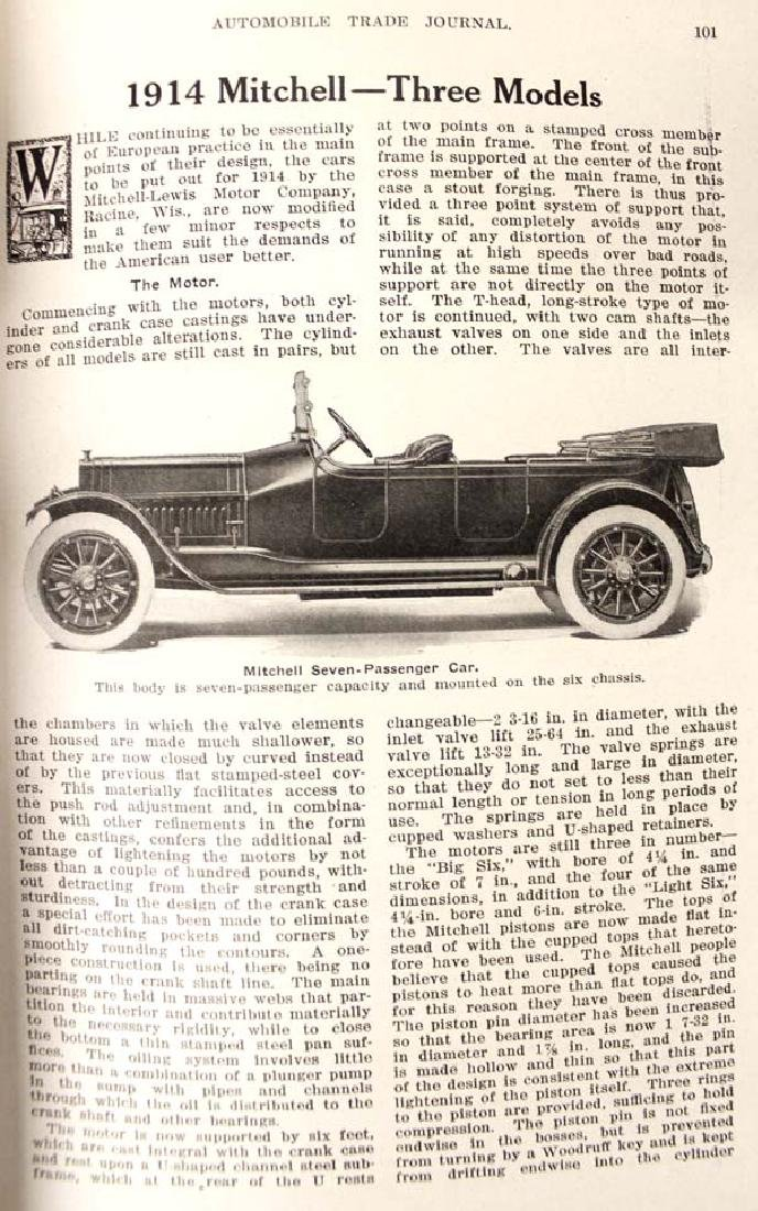 Pair of Antique Car Books - 2