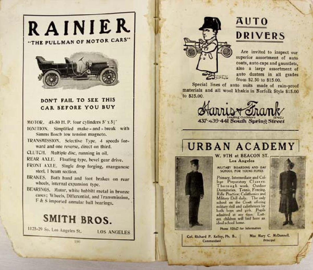 Pair of Antique Car Books - 3