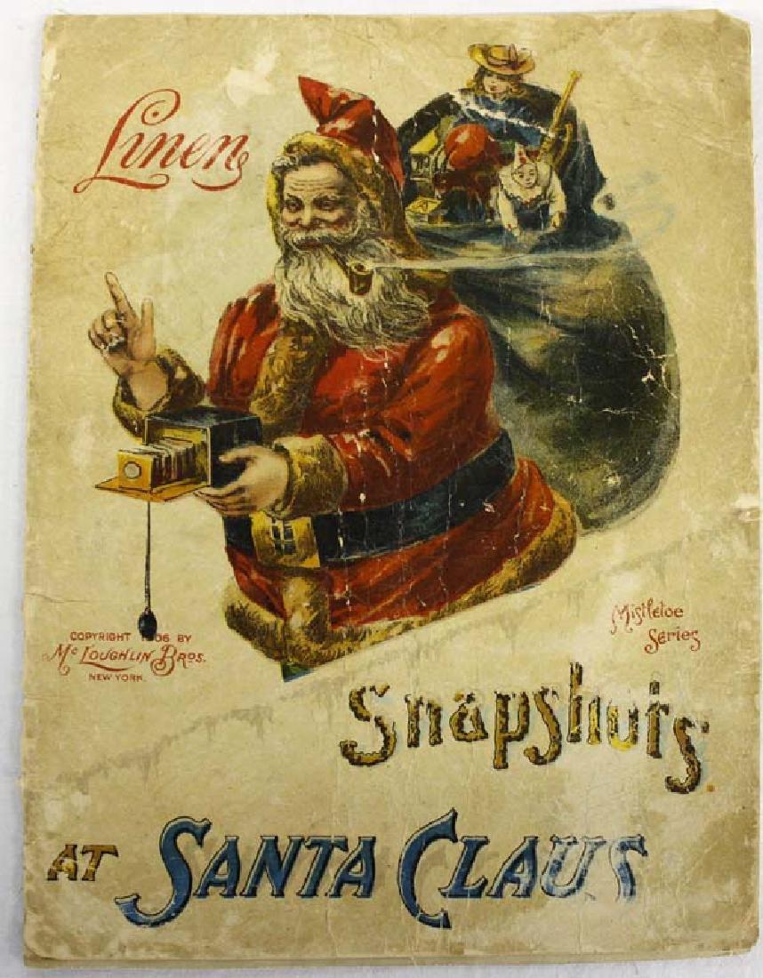 Antique Linen Book Snapshots at Santa Claus