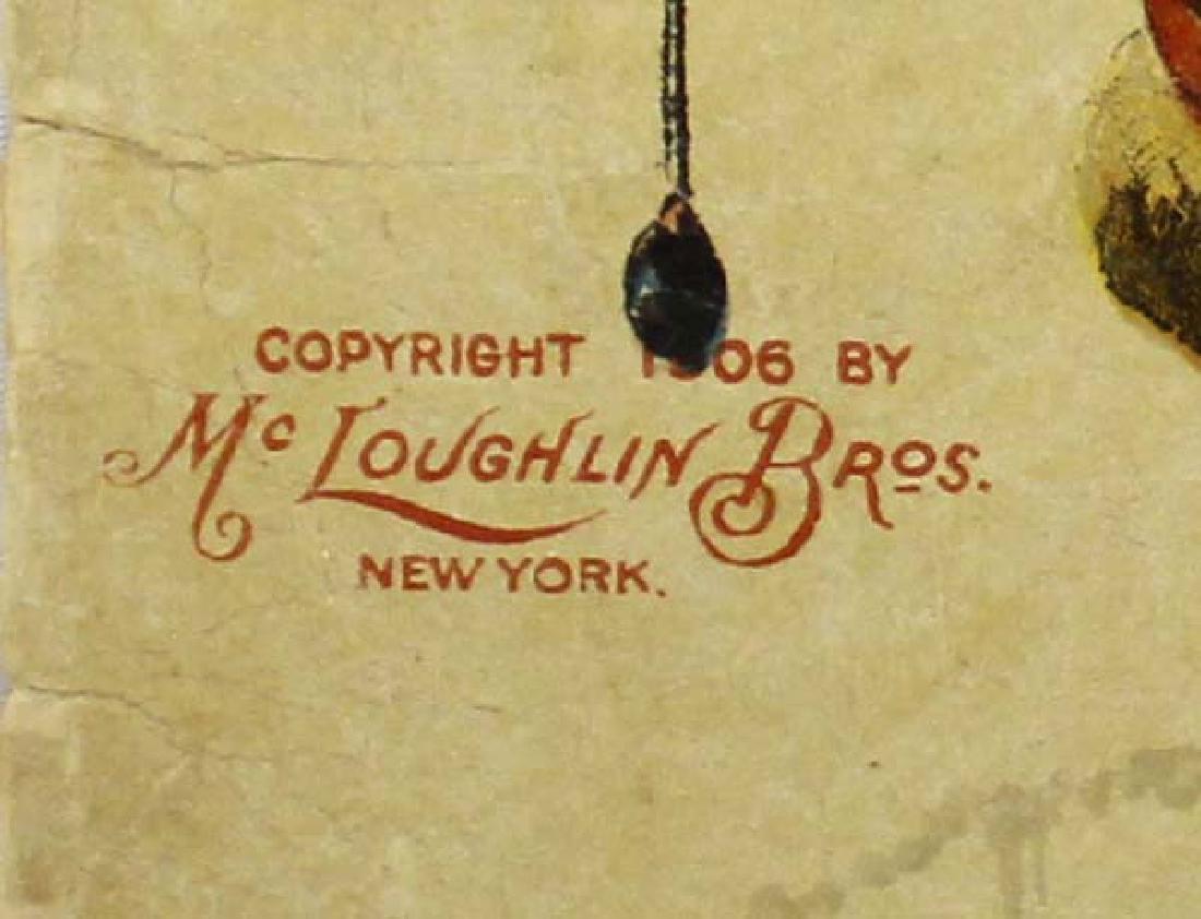 Antique Linen Book Snapshots at Santa Claus - 2