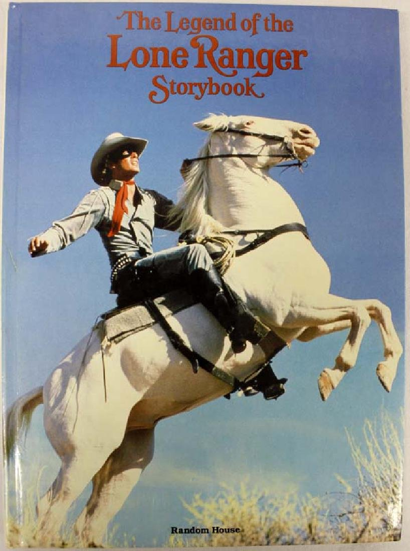 1981 The Legend of the Lone Ranger Storybook