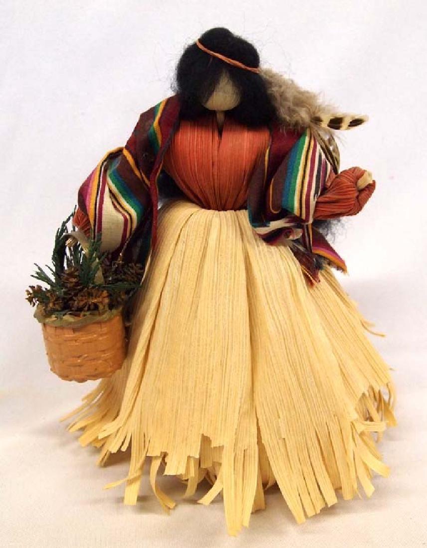 Nan's Native American Maiden Corn Husk Doll