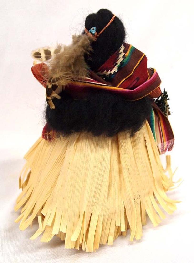 Nan's Native American Maiden Corn Husk Doll - 2