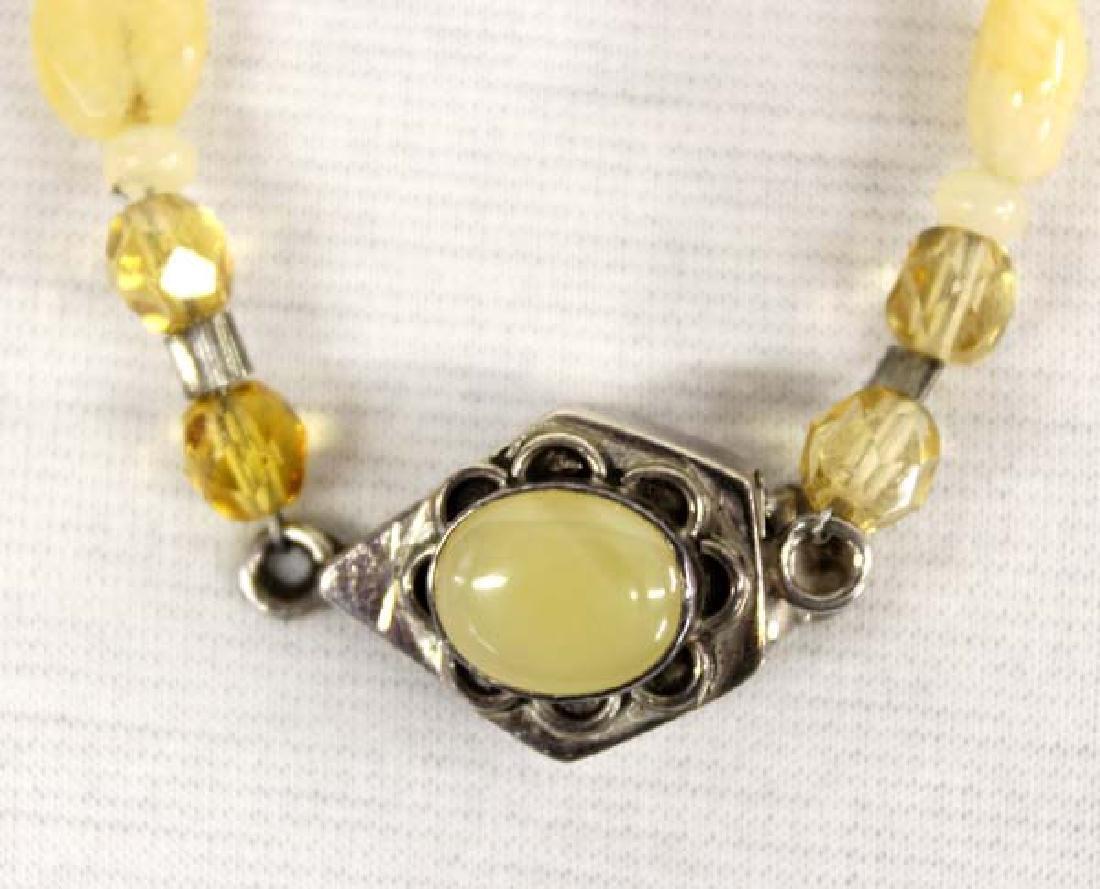 Citrine Sterling Silver Bracelet & Ring - 2
