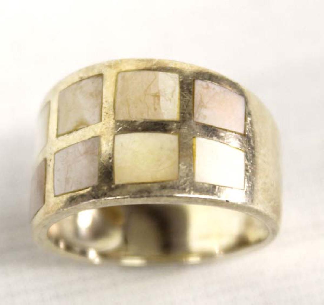 Citrine Sterling Silver Bracelet & Ring - 3
