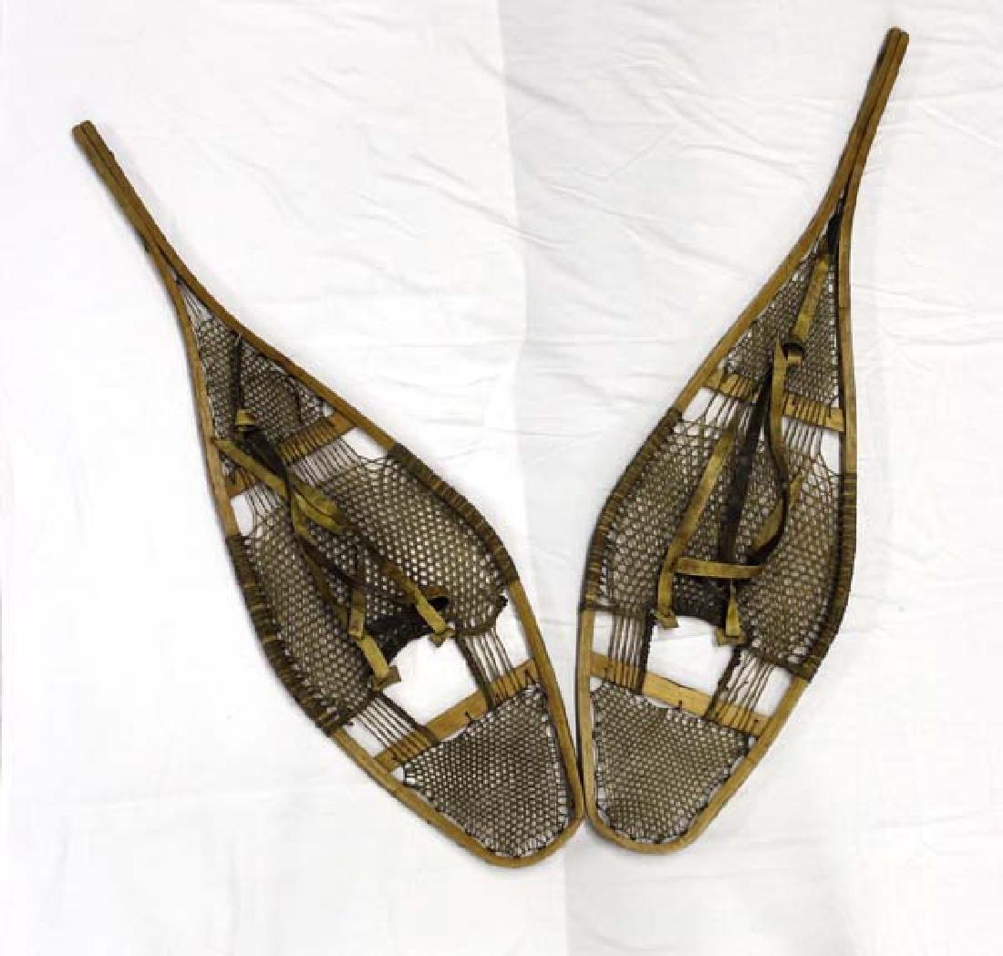 Antique Native American Snowshoes