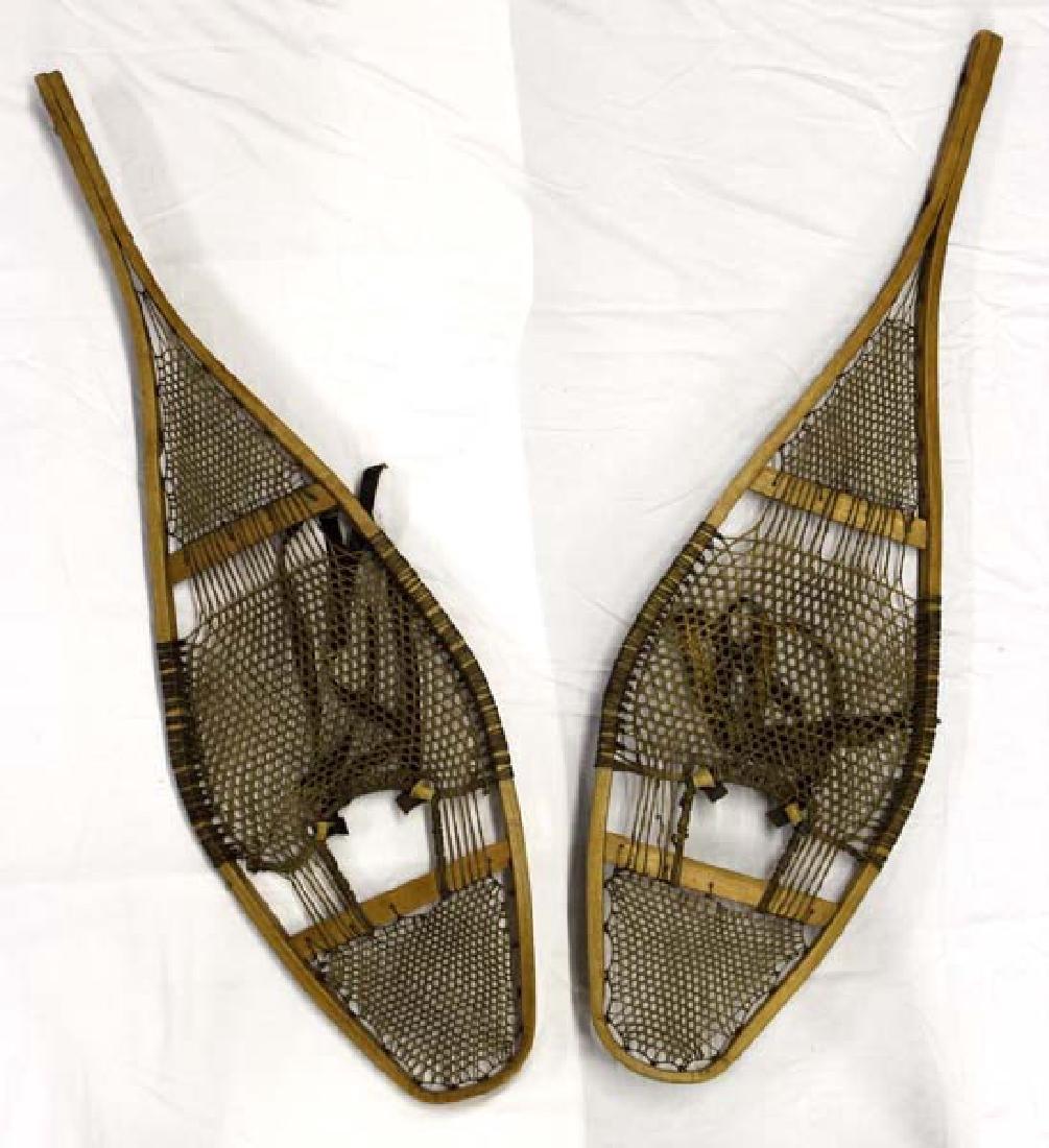Antique Native American Snowshoes - 2