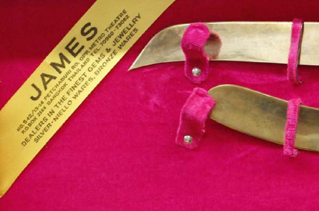 James Co. Solid Nickel Bronze Flatware, 145 Pieces - 3