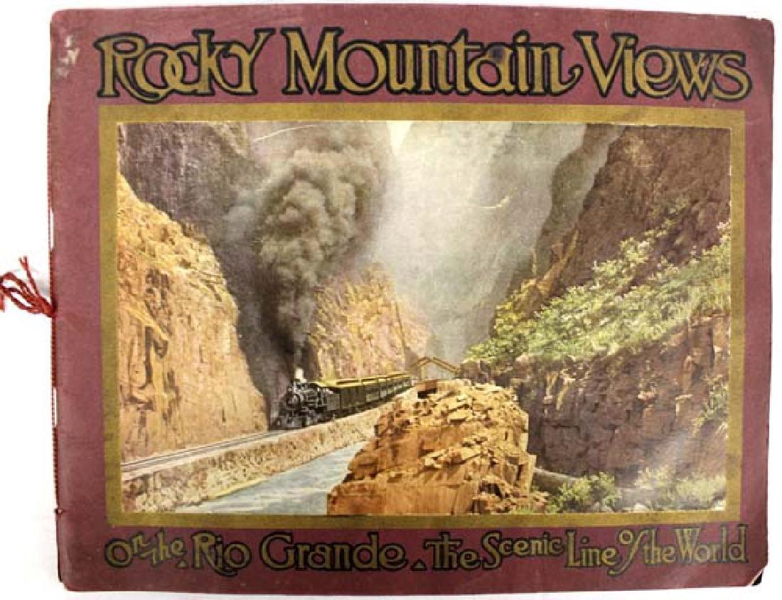 1914 Antique Rocky Mountain Views Colorado