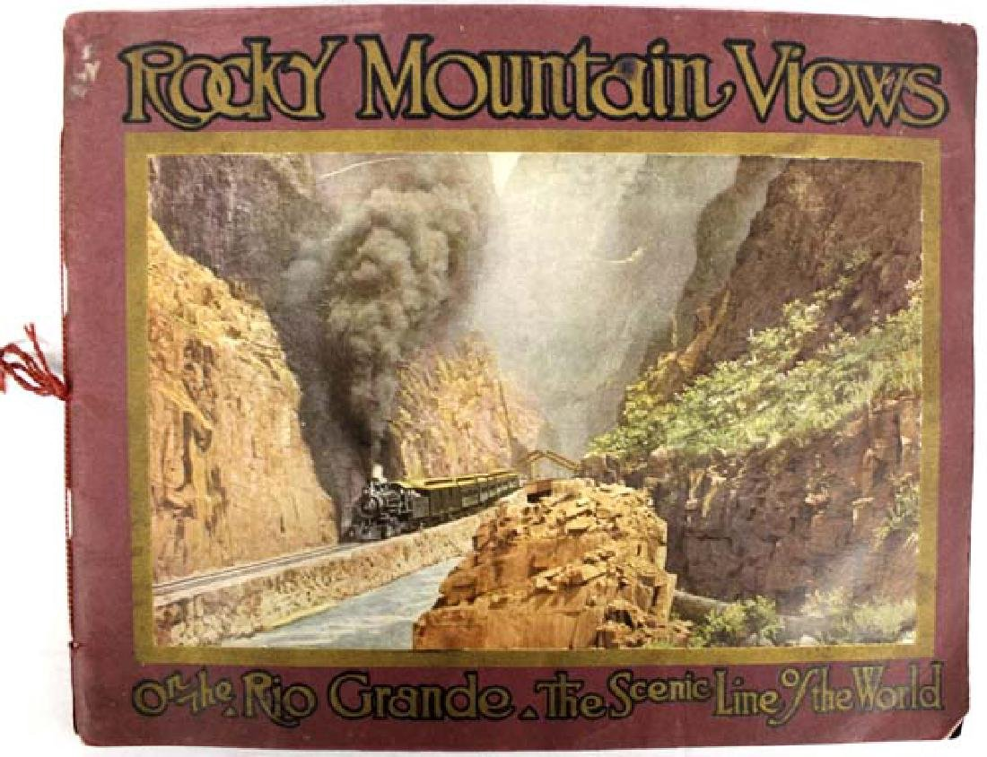 1914 Antique Rocky Mountain Views Colorado