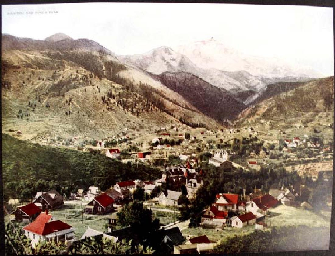 1914 Antique Rocky Mountain Views Colorado - 4