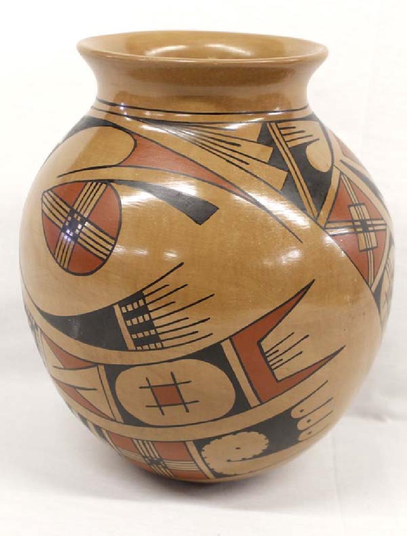 Mexican Mata Ortiz Polychrome Jar by Fito Tena - 2