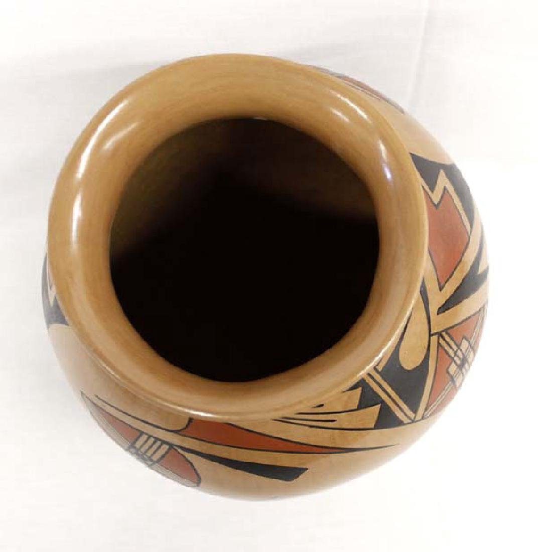 Mexican Mata Ortiz Polychrome Jar by Fito Tena - 3