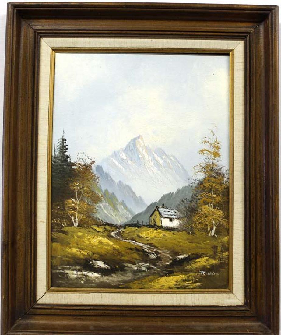 Original Landscape Oil Painting by Ringo