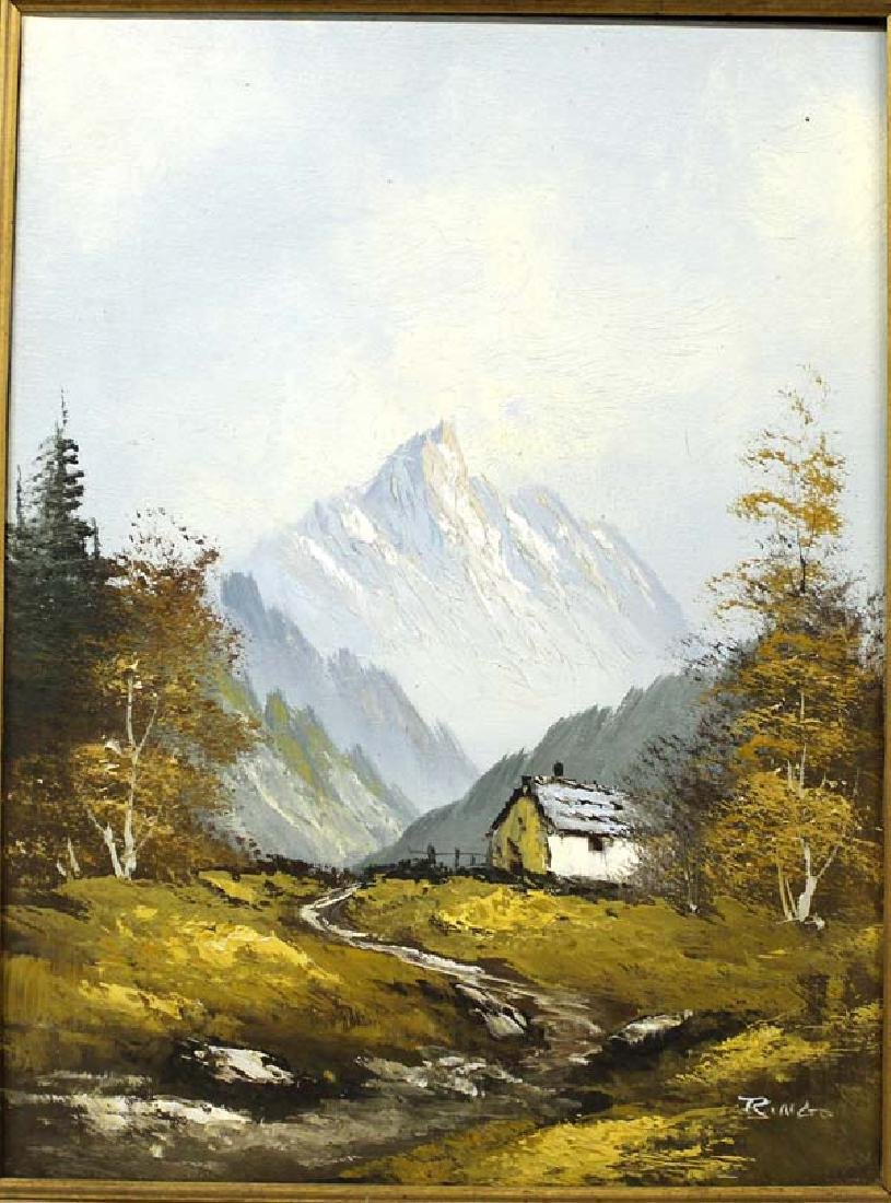 Original Landscape Oil Painting by Ringo - 2