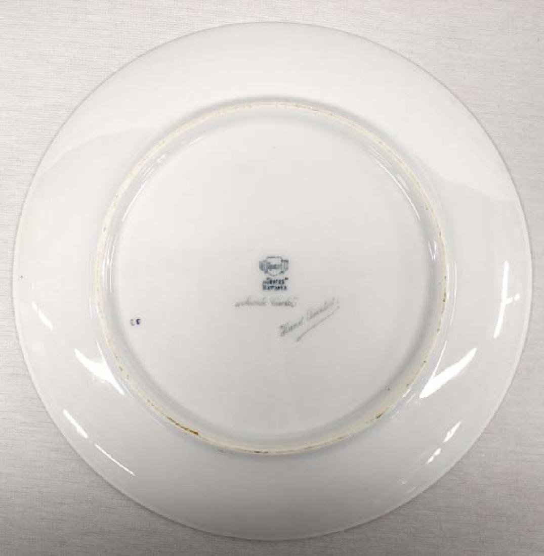Bavarian Sevres Monte Carlo Hand Painted Plate - 2