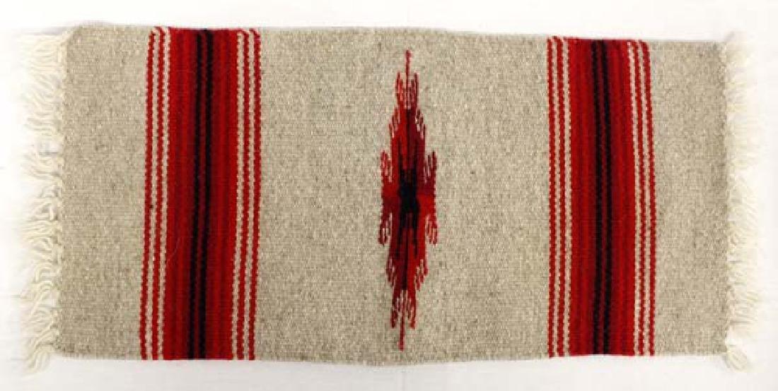 Chimayo 100% Fringed Wool Textile