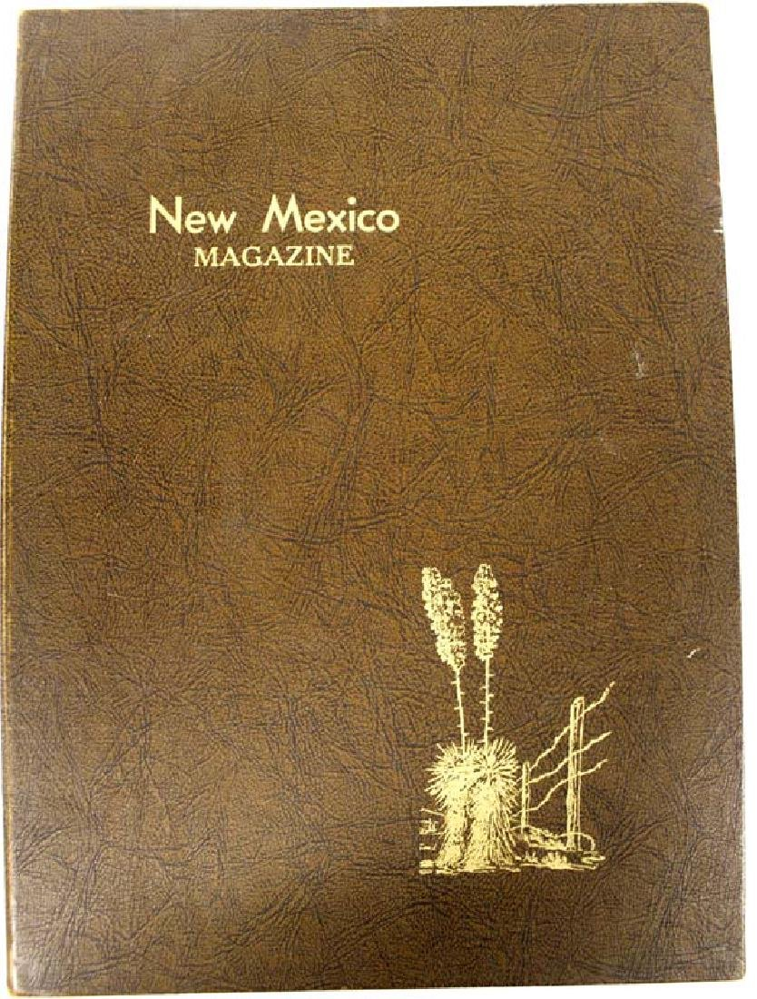 Leather Binder New Mexico Magazines